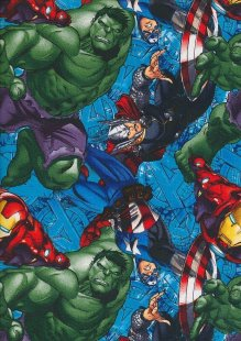 Marvel - Thor, Iron Man, Captain America & The Hulk Avengers