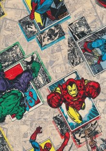 Marvel - Spider-Man, Thor, Iron Man and The Hulk Stickers