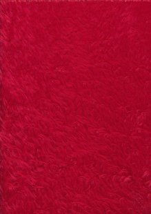 Acrylic Fun Fur - Red