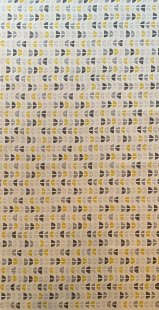 Furnishing Fabric - Odense Mustard/ Grey