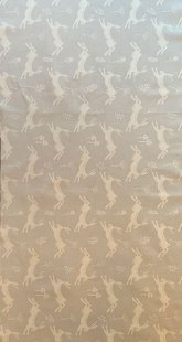 Furnishing Fabric - Hares Silver