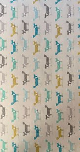 Furnishing Fabric - Foxy Turquoise