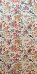 Furnishing Fabric - Flowers Multi