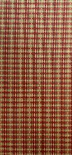 Furnishing Fabric - Check Red