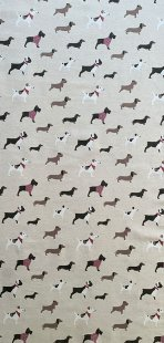 Furnishing Fabric - Doggy Mixture Taupe