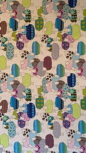 Furnishing Fabric - Sheep Multi