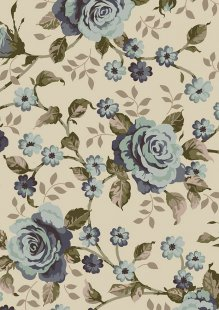 Ginger Lily Studio - Lincoln Lane Large Blue Rose