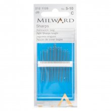 Hand Sewing Needles: Sharps: Nos.5-10: 20 Pieces