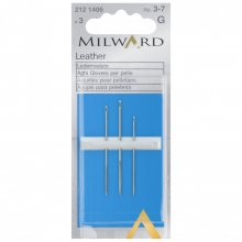 Hand Sewing Needles: Leather: Nos.3-7: 3 Pieces