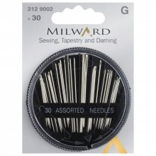 Hand Sewing Needles: Sewing, Tapestry & Darning: 30 Pieces