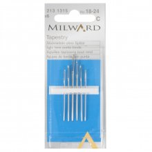 Hand Sewing Needles: Tapestry: Nos.18-24: 6 Pieces