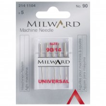 Sewing Machine Needles: Universal: 90/14: 5 Pieces