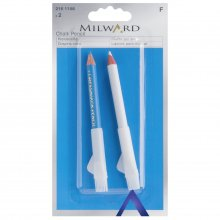 Pencil: Dressmakers: White and Blue: 2 Pieces
