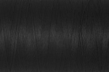 Natural CottonThread: 400m: 5201 Blk