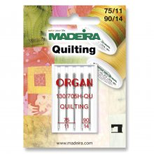 Sewing Machine Needles: Quilting: Sizes: 75/11, 90/14
