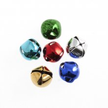 Bells: Jingle: 15mm: Assorted: 6 Pack