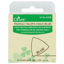 Tailors Chalk: Blue Triangle