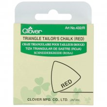 Tailors Chalk: Red Triangle
