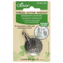 Thread Cutter: Pendant: Antique Silver