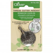 Thread Cutter: Pendant: Antique Gold
