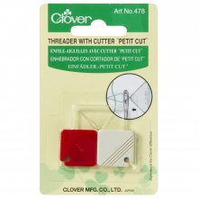 Needle Threader: with Cutter: Petit Cut