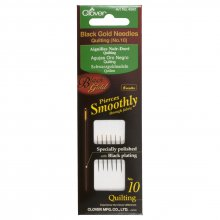 Hand Sewing Needles: Quilting: Black Gold: No.10