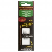 Hand Sewing Needles: Quilting: Black Gold: Assorted