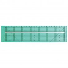 Bias Tape Cutting Ruler (mm gauge)