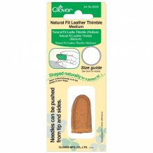 Thimble: Leather Natural Fit: Medium (3)