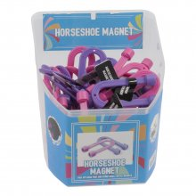 Counter Display Tub: Magnets: Horse Shoe: 48 Pieces