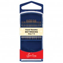 Hand Sewing Needles: Gold Eye: Betweens: Size 7-9