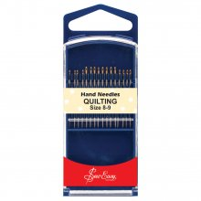Hand Sewing Needles: Gold Eye: Quilting: Size 8-9