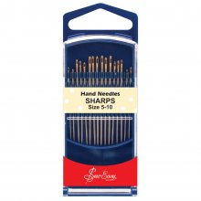 Hand Sewing Needles: Gold Eye: Quilting: Size 5-10
