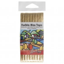 Fusible Bias Tape: 6mm: Gold