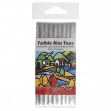 Fusible Bias Tape: 6mm: Silver