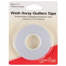 Tape: Quilter's: Wash-Away: 10m x 8mm