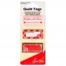 Quilt Tags: Quilted For