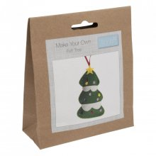 Felt Christmas Decoration Kit: Tree