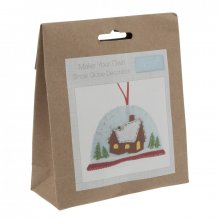Felt Christmas Decoration Kit: Snow Globe