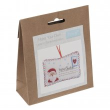Felt Christmas Decoration Kit: Letter To Santa