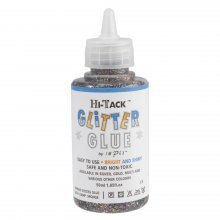 Adhesive: Hi-Tack Glitter Glue: Multi-Colour: 50ml (6)