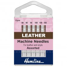 Sewing Machine Needles: Leather: Mixed: 5 Pieces
