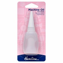 Sewing Machine Oil: 20ml (3/4 fl.oz.)