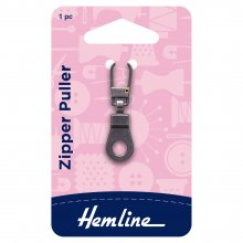 Zipper Puller: Ring - Bronze