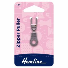 Zipper Puller: Ring - Silver