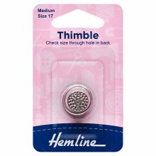 Thimble: Metal: Size 16, Small
