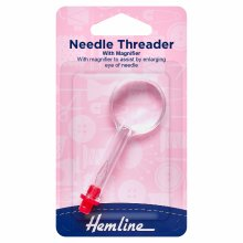 Needle Threader: with Magnifier
