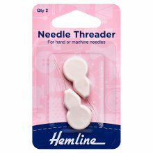 Needle Threader: Plastic Handle