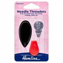 Needle Threaders: Assorted Pack of 3