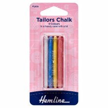 Tailors Chalk: Pack of 4 Colours
